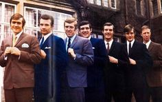 Circa 1969/70. Never knowingly in sync with London fashion, Leeds players cutting a dash when suited and booted.