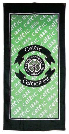 Celtic Football Club - Celtic Park 1888 - 100% Cotton Velour Sports Towel - 2nds in Home, Furniture & DIY, Bath, Towels   eBay#football #team #sport #play #exercise #cool #modern #support #teamplayer #fan #footballfan #Celtic #CFC #towel #home #beach #shower #bath #CelticFootballClub