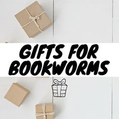Gifts For Bookworms, Book Worms, Place Cards, Place Card Holders, Book Nerd