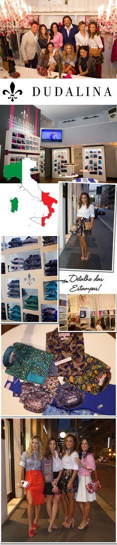 Para quem acompanha o blog sabe que, da semana de moda de Londres, fomos direto para Milão, para a semana de moda e também para uma visita super especial. ADudalina, marca mais tradicional de cami…