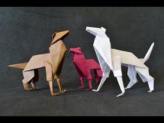 Origami: Cachorro / Shepherd Dog - YouTube