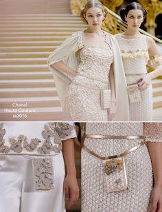 Pochete – Chanel Alta Costura: Verão 2016