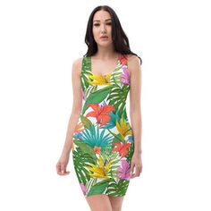 @Homogeneous123 posted to Instagram: Tap the link in my bio for more info -> @homogeneous7 Tap the link in my bio for more info -> @homogeneous7 Make a statement and look fabulous in this all-over printed, fitted dress. • Imported fabric: 82% polyester / 18% spandex • Material has a four-way stretch, which means fabric stretches and recovers on the cross and lengthwise grains. • Made with smooth, comfortable microfiber yarn • Women's Racerback Tank #dress #dresses #dressup #dr Dress Anak, Dress Pesta, Evening Dresses, Summer Dresses, Batik Dress, Dress Sewing Patterns, Custom Dresses, Dress To Impress, Casual Dresses
