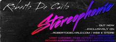 """Roberto De Carlo """"Stereophonic"""" (RDC Digital) exclusively available in the RDC Store!"""