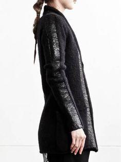 WOMEN DESIGNER :: 10SEI0OTTO :: 15-16F/W :: 10sei0otto Knit Cardigan Crochet Wool, Urban Style, Urban Fashion, Knit Cardigan, Designing Women, Knits, Steampunk, Fur Coat, Women Wear