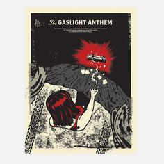Gaslight Anthem Cherry Bomb poster by El Jefe - on sale right now for $16 at Fab: http://fab.com/10te3c