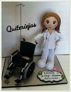 Enfermera y paciente en silla de ruedas ideas para for Ruedas de goma para sillas