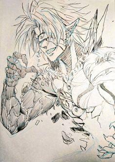 Browse Daily Anime / Manga photos and news and join a community of anime lovers! Saitama, Lord Boros, Manga Boy, Manga Anime, Daily Manga, One Punch Man Sonic, Manga News, Man Sketch, Drawing Sketches