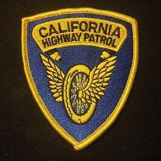 California Highway Patrol - Wheel & Wings - Police Patch
