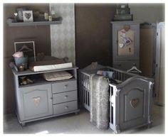 landelijke babykamer met een beetje hoffz en leuke decoratie van, Deco ideeën