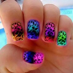 Nail art summer fun