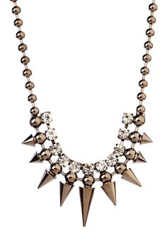 Monique Leshman - Spikey Statement Necklace