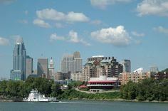 Cincinnati  skyline...