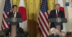 Full Video & Transcript: President Donald Trump, Japanese Prime Minister Shinto Abe Joint Press Conference, Fri., Feb. 10, 2017