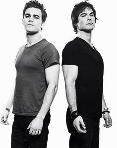Paul Wesley & Ian Somerhalder