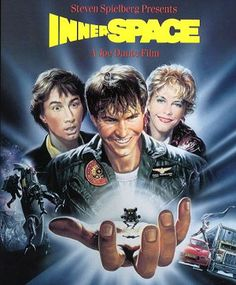 A description of tropes appearing in Innerspace. A 1987 sci-fi comedy starring Dennis Quaid, Martin Short, and Meg Ryan. Rather surprisingly not the huge hit … Fiction Movies, Sci Fi Movies, Funny Movies, Good Movies, Science Fiction, Excellent Movies, Meg Ryan, Martin Freeman, Love Movie