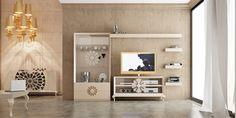 Mueble Tv Klassic #tv #mueble #wallunitTV #salones #mueblesdesalon www.francofurniture.es