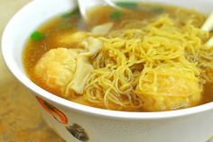Noodle Boy, Rosemead. You gotta get the wonton noodle soup with a side of greens.