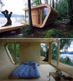 Modern Micro Cabin: Too Small for Full Time Living?
