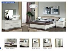 Bedroom  Furniture Modern  Bedrooms Onda White, Camelgroup Italy for sale at http://www.kamkorfurniture.ca