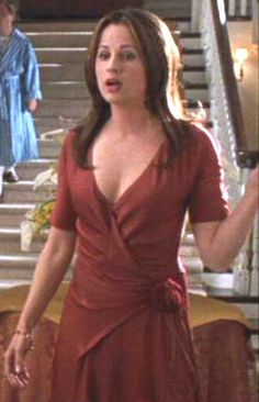 Paula Marshall - as Tina Shenk in Cheaper By the Dozen Paula Marshall, Cheaper By The Dozen, Attractive People, Wrap Dress, Dresses, Fashion, Vestidos, Moda, Fashion Styles