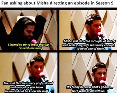 Misha's screwed. *laughs deviously*