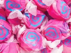 Cotton Candy Pink & Blue Gourmet Salt Water Taffy 1 Pound Bag Taffy Town http://www.amazon.com/dp/B006PX6X20/ref=cm_sw_r_pi_dp_d3kRub168WCF6
