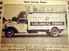 Mack scores again, from the Nashville Times, 1940 :: Nashville Public Library Digital Collection Nashville Public Library, Country Stores, Scores, Tractors, Tennessee, Van, Times, Digital, Collection