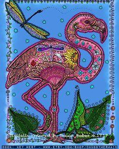 Artist : Chubby Mermaid Art by Deborah Muller. Pigment Coloring, Mermaid Art, Mermaids, Owls, Digital Art, Inspire, Birds, App, Colour