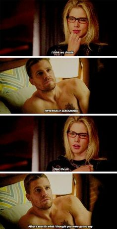 """#Arrow 4x06 """"Lost Souls"""" - Felicity and Oliver"""