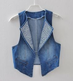 Jeans And Lace. Ideas (Sewing And Cuttin - Diy Crafts Diy Jeans, Love Jeans, Jeans Style, Denim And Lace, Fashion Mode, Denim Fashion, Sewing Clothes, Diy Clothes, Gilet Crochet