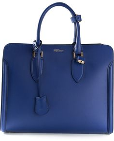 Alexander McQueen padlock tote bag on shopstyle.com
