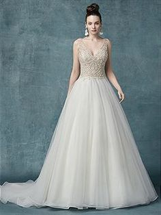 9cc91915698 Bridal Gowns Maggie Sottero Sophronia Marie Bridal Gown Image 1 Princess  Wedding Dresses