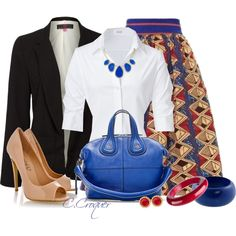 """The Skirt"" by ccroquer on Polyvore"