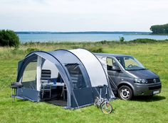 Fjord 25 Drive-Away Awning - Camper/Van/VW/T4/T5