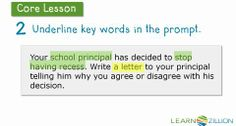 4th grade opinion writing: responding to a persuasive prompt