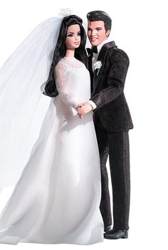 Elvis® and Priscilla Barbie® Doll and Elvis Doll Giftset