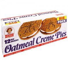I love, love, LOVE Little Debbie oatmeal creme pies!