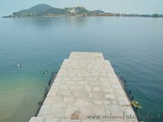 The fortess of Angera (Italy) seen from Arona