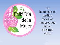 Un homenaje en su día a todas las mujeres que llenan nuestras vidas.