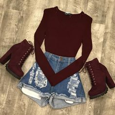 Conjunto rojo Source by yajiortis tween outfits casual Really Cute Outfits, Cute Swag Outfits, Cute Comfy Outfits, Girly Outfits, Cute Summer Outfits, Mode Outfits, Retro Outfits, Stylish Outfits, Amazing Outfits