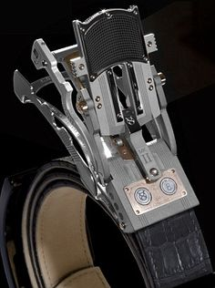 About the coolest, most expensive belt buckle you'll likely see. The Roland Iten R8S Mark II
