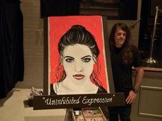 Brandon Scott speed painting at DaVinci Exhibit - YouTube