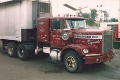 "Vintage Trucks Diamond REO ""The Desperado"" Old Mack Trucks, Big Rig Trucks, Hot Rod Trucks, Toy Trucks, Semi Trucks, Pickup Trucks, Lifted Trucks, Freight Truck, Chevrolet Trucks"