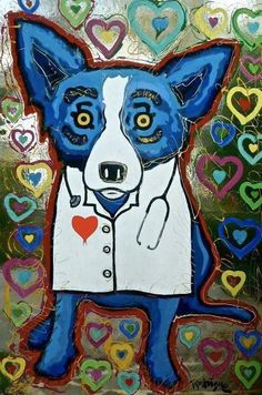 blue dog nurse