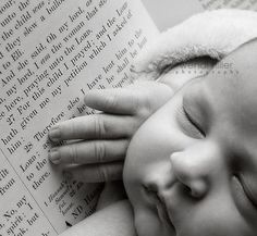 """New Ideas For New Born Baby Photography : """"For this child I prayed."""" Such a beautiful idea for a baby photo 1"""