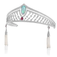 Chaumet Tiara from the No 2 collection