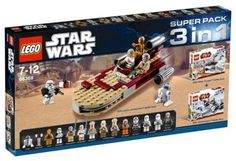 Son favorites Star Wars Super Pack 3 in 1 Lego Soldiers, How To Draw Braids, Lego Pictures, Lego Minifigs, Lego War, Lego Sets, Lego Star Wars, Legos, Packing