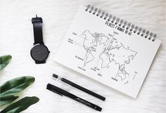 Places to go - Bullet Journal Inspiration