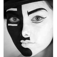 Picasso Halloween Makeup Idea! Look to the great master painters for your inspiration this year!!!
